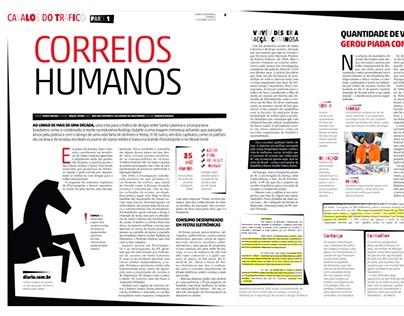 Cavalos do Tráfico - Diário Catarinense
