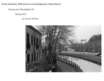 From Industry Mill Town to Contemporary main Street