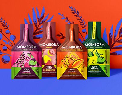 Mombora / Packaging illustration