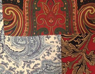 Traditional Patterns: Paisleys, Florals and More