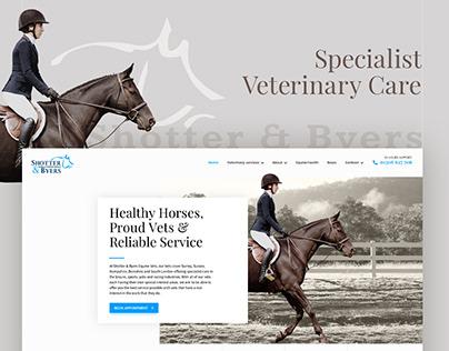 Website of veterinary specialists
