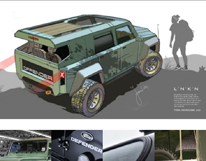 LAND ROVER OFFENDER by LNKN
