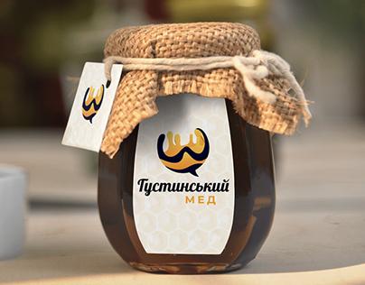 Фирменный стиль и разработка логотипа - Густинський мед
