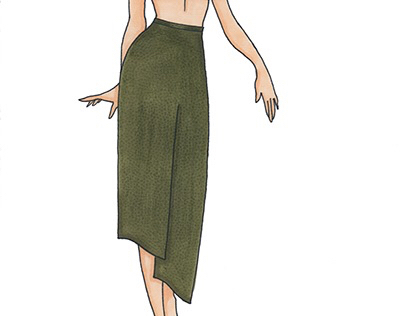 Fashion Illustration/Ilustración de Moda Skirts/Faldas
