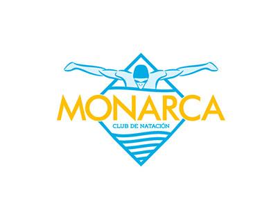 Club de Natación Monarca Logotipo y Manual de Identidad