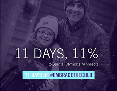 Embrace The Cold Campaign Design & Digital Marketing