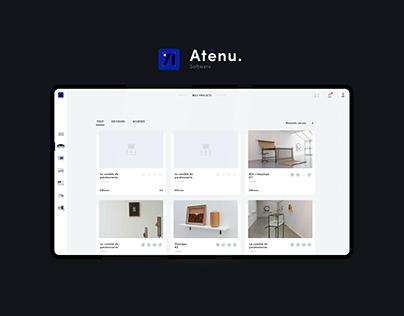 Aténu._app UX&UI