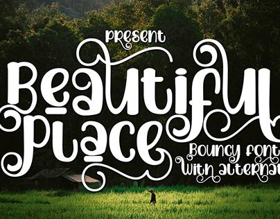 Beautiful Place Font