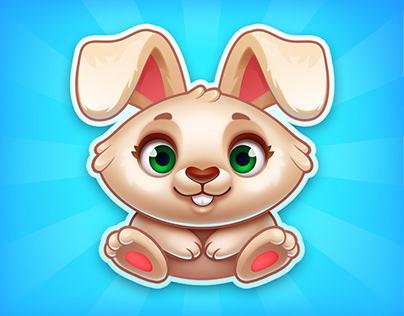 """""""Raspberry Jam"""". Bunny."""