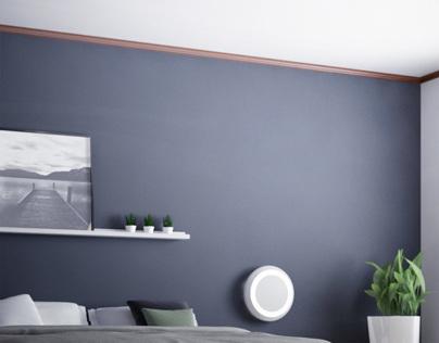 Mienai, wall/ceiling lamp
