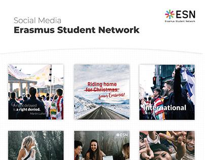 Social Media of Erasmus Student Network