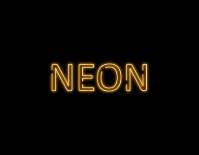 neon effect