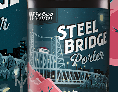 Widmer Portland Pub Series Steel Bridge Porter