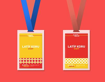 Plastik Aşklar corporate identity design