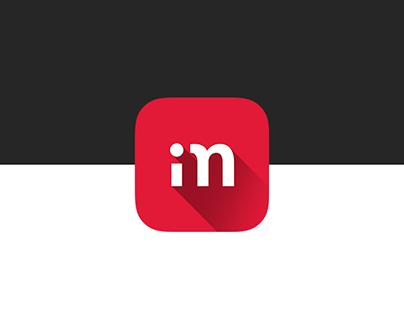 iMagazin app design