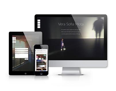 Vera Mota Website