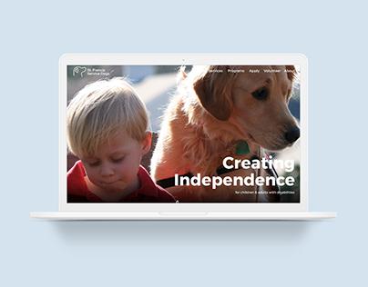 Rebrand: Service Dogs