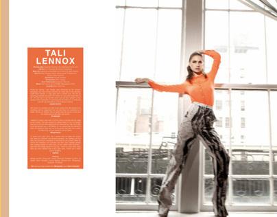 TALI LENNOX for KURV magazine