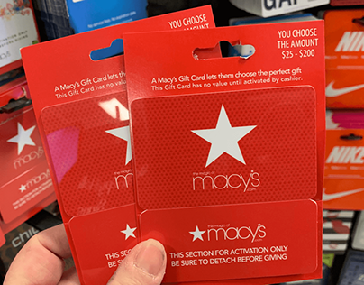 Customers Trying To Cash In Their Macy's Gift Card