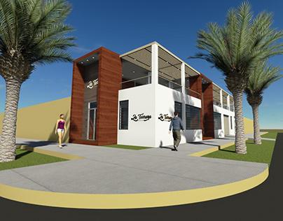 La Terraza Resto Bar - Arquitectura Retail