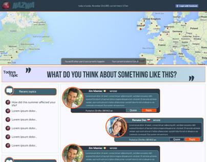 Social Portal Project