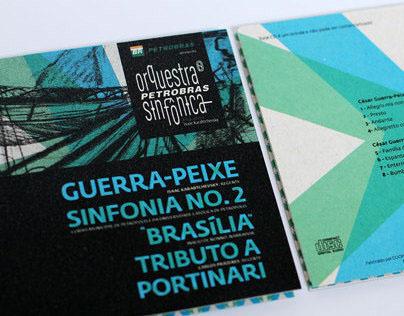 CD's e DVD Orquestra Petrobras Sinfônica