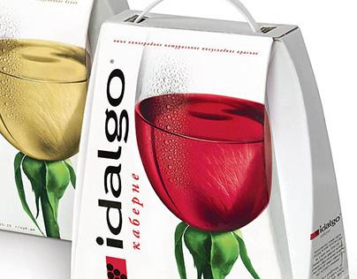 Idalgo vine packaging