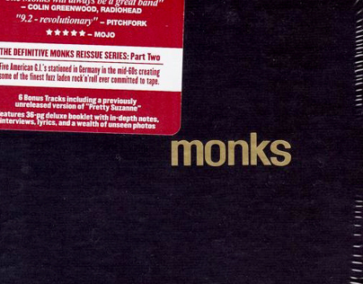 Monks 2009 reissue series / Light In The Attic