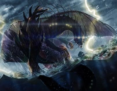 dragon vs vikings (process)