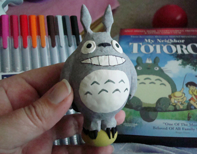 Totoro - Clay Model