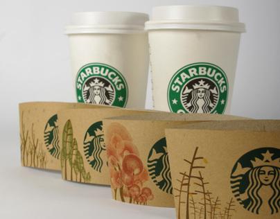 Seasonal Theme Coffee Collar