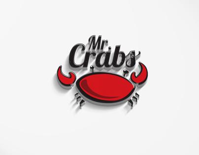Mr. Crabs Restaurant Branding