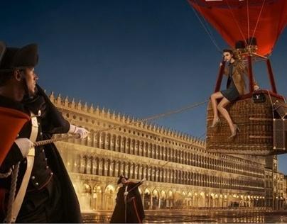 Louis Vuitton Invitation au voyage Venise photo shoot