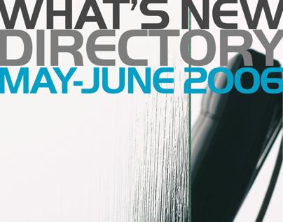 What's New Dir May-Jun 2006