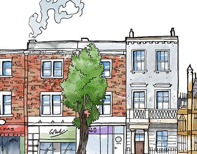 Illustration de Londres