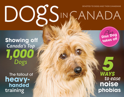 Dogs in Canada Magazine Covers