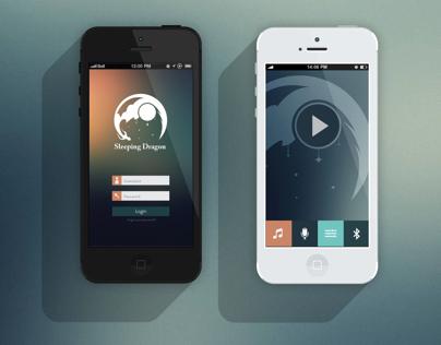 Sleeping Dragon App UI/UX Design