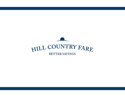 Hill Country Fare Rebranding Project