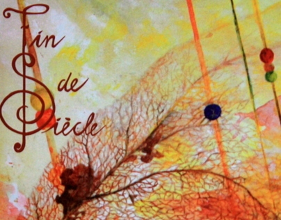 Logo and cd- artwork, Fin de Siècle- Dreamcatcher