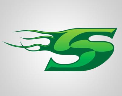 Speedy Carts & Coatings Logo Design