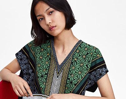 Geometric print / Zara Woman