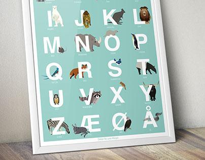 Animal Alphabet (Danish)