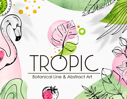 Tropical Line & Abstract Art