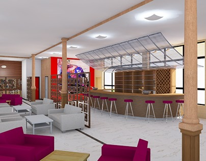 64 Resort Bar - Commercial Project