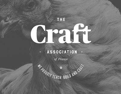 The Craft Association of France - Branding