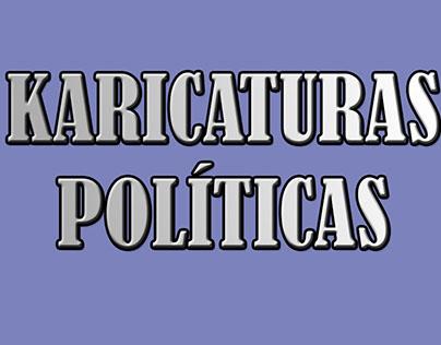 KARICATURAS POLÌTICAS / POLITICAL KARTOONS