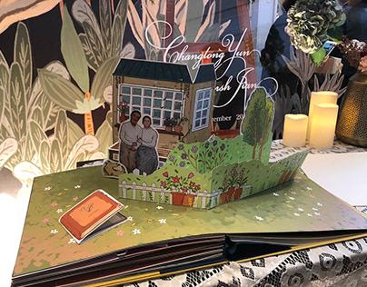 Wedding Pop-up Book