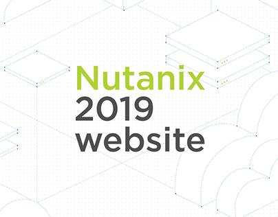 Motion for Nutanix 2019 website.