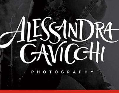 Alessandra Cavicchi: Logo e branding