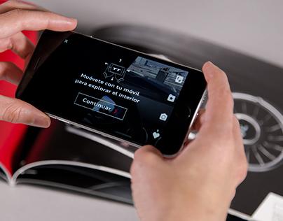 Audi TT interactive